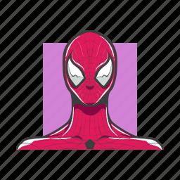 avatar, avatars, man, spiderman, super hero icon