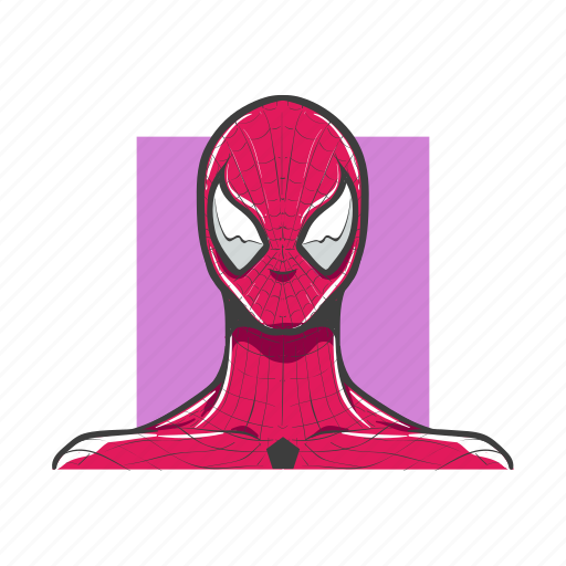 avatar, avatars, man, spiderman, super hero icon