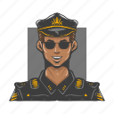 avar, avatars, face, man, police, policeman, user icon