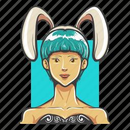 avatar, avatars, bunny, girl, hot, sexy, woman icon