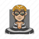 avatar, avatars, buglar, evil, man, steal, thief icon
