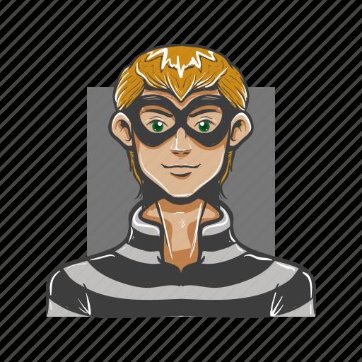 avatar, avatars, buglar, evil, man, steal, thief icon