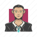 business man, avatars, face, avatar, professional, guy, man