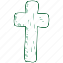 cross, religion icon
