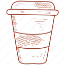 coke, cola, drink, soda icon