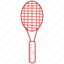 racket, sport, tennis icon
