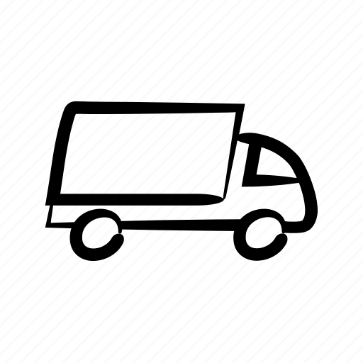 courier, delivery, express, fast, logistics, transportation, truck icon