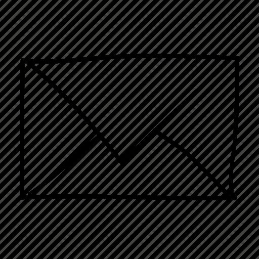 drawn, email, handdrawn, message, send, sketch, sketchy icon