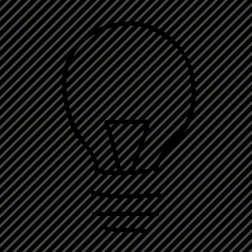 drawn, energy, handdrawn, idea, lightbulb, sketch, sketchy icon