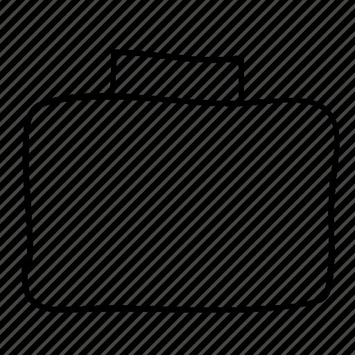 briefcase, business, drawn, handdrawn, sketch, sketchy, suitcase icon