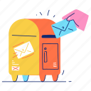 email, mail, box, message, envelope, communication