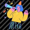 holidays, events, woman, celebrate, birthday, occasion, celebration
