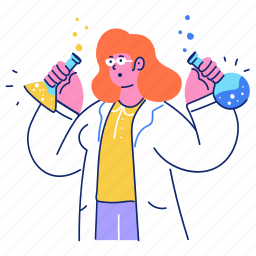 science, chemistry, lab, laboratory, woman, experiment, test