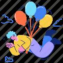 transportation, air, balloon, travel, lift, float, transport