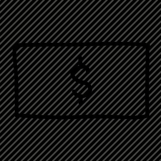 banking, dollar, drawn, finance, financial, money, sketch icon