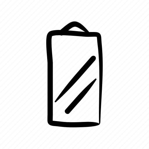 decoration, furniture, hand drawn, home, house, mirror icon