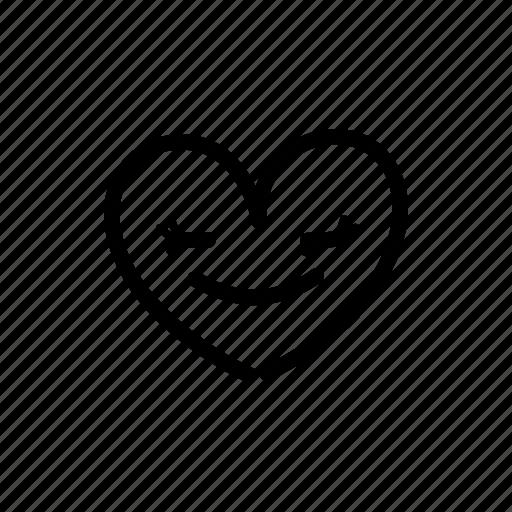 attractive, female, heart, in love, love, romantic, valentine's day icon