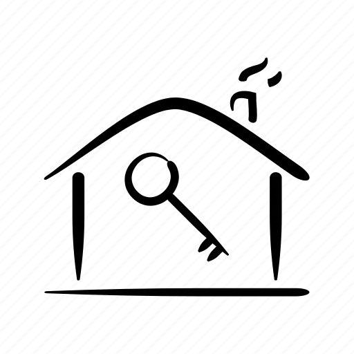access, home, house, key, owner, property, security icon