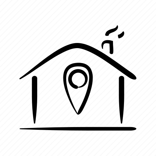 home, house, location, market, property, real estate, search icon