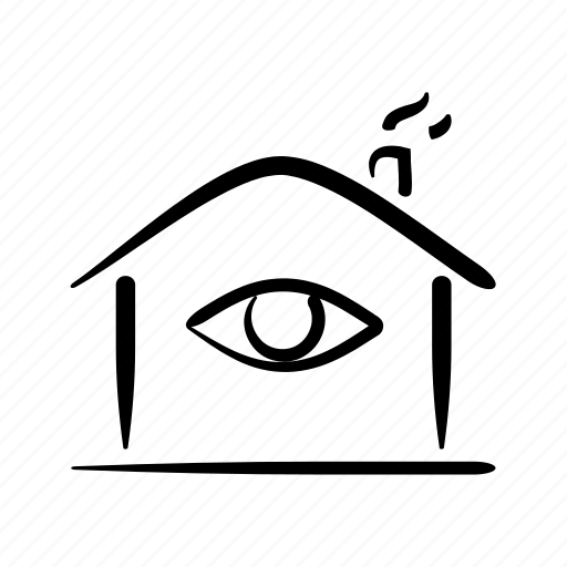 alarm, home, house, market, search, security, surveillance icon