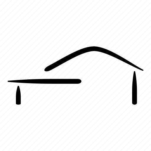 architecture, hand drawn, house, housing, project, real estate, sketch icon