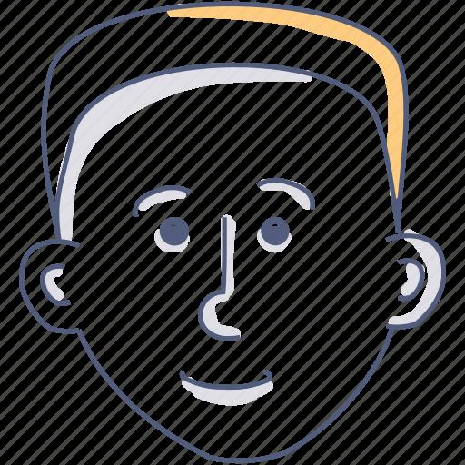 asset, man, user icon