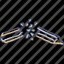 asset, borken, pencil icon