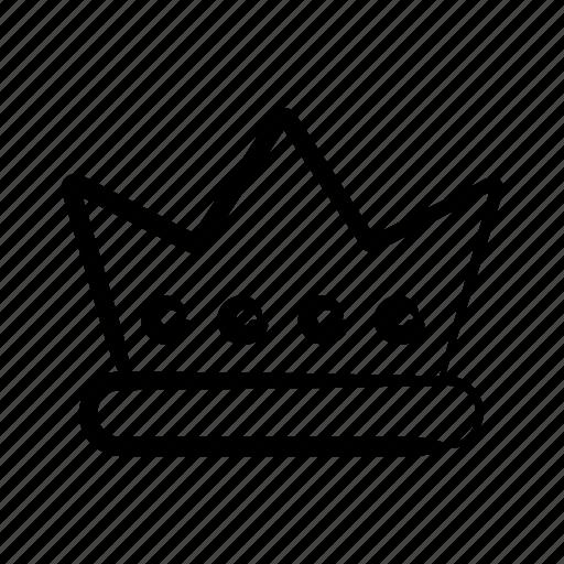 crown, king, monarch, royal, royalty, rule, ruler icon