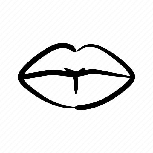 erotic, female, feminine, lips, sensual, sexy, woman icon