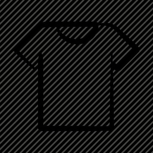 casual, clothes, fashion, hand drawn, man, t-shirt, wear icon
