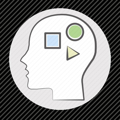 awareness, brain, brainstorm, calculate, calculation, comprehension, decision, diagnostics, estimate, evaluate, feel, idea, imagination, impact, influence, insight, inspiration, inspire, intention, mental, mind, model, modelling, perception, processing, quest, quiz, reaction, reflex, sense, solution, strategy, tactic, think, understanding, visualization, visualize icon