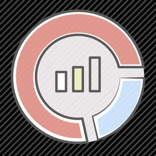 analytics, big data, bigdata, chart, finance, graph, indicators, market, monitoring, report, stock portfolio, stocks, summary icon