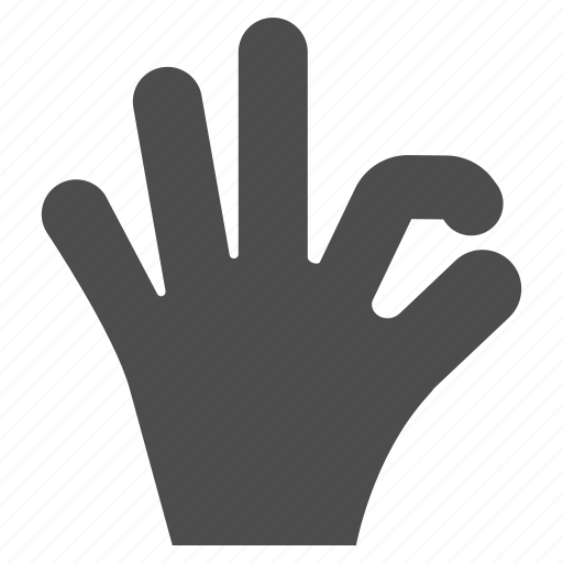 accept, approve, confirm, gesture, ok, success, yes icon