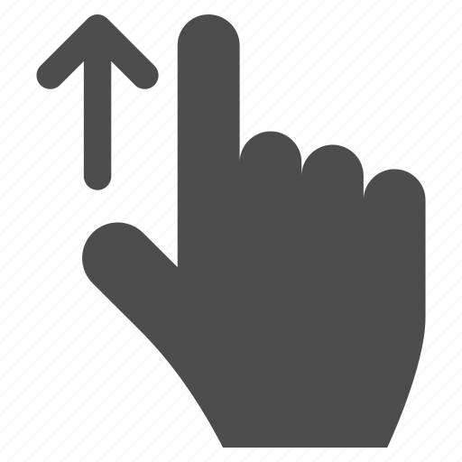 arrow, direction, finger, gesture, hand, location, pointer icon