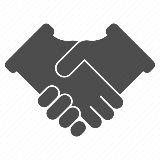 agreement, business, communication, contract, gesture, hands, handshake icon