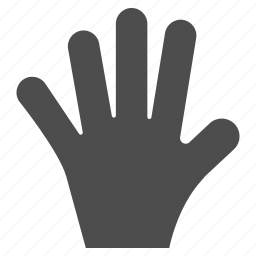 fingaz, fingers, five, gesture, gestureworks, palm, tap icon