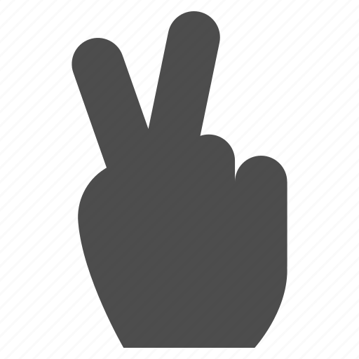award, gesture, hand, success, victory, win, winner icon