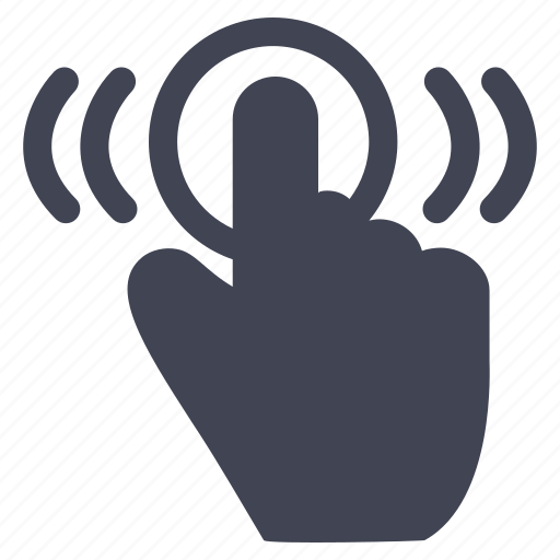 double, gestures, hand, move, tab, touch icon