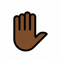gestures, hand, touch icon