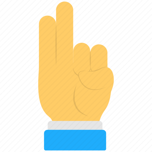 hand, hand gestures, pointing upwards, signs, two fingers icon