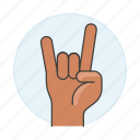 excitement, hand, the, concert, horns, rock, metal, love, gestures, you, front, gesture, sign, music icon