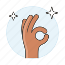 excellent, correct, point, gestures, okay, perfect, signal, all, shine, on, gesture, hand, ok icon