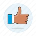gestures, thumbs, favorite, hand, approve, thumb, up, signal, like, agree, love icon