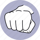 hand, punch, punching, fist, attack, assault