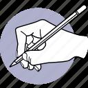 write, writing, draw, drawing, pencil, hand