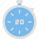 hygiene, seconds, stop, stopwatch, timer icon