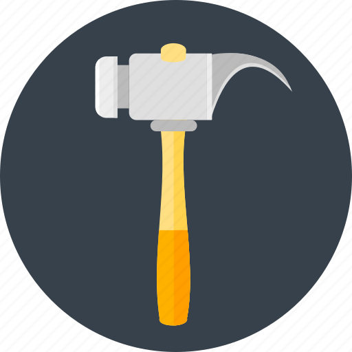 construction, hammer, hammering, renovate, renovation, repair, work icon