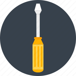 fix, hand tools, handtool, repair, screw driver, screwdriver, work icon