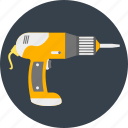 drill, driller, drilling, machine, service, tool, work icon