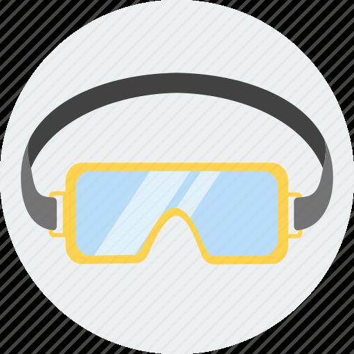 glasses, safety, spy, swim, swimming, work icon